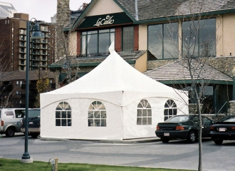event tent rental set up in Mississauga